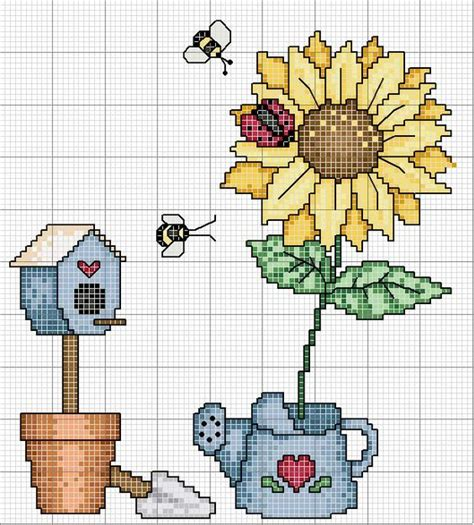 guid pattern xsd cross stitch country no color chart just use pattern