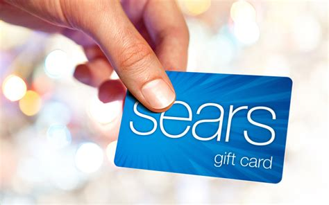 Sears Discount Gift Card - enter to win a 100 sears gift card