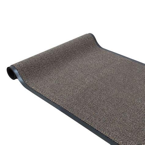 dirt barrier runner wearing non slip mat beige basic