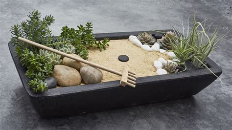 Mini Zen Rock Garden Purplebirdblog Com Mini Zen Rock Garden