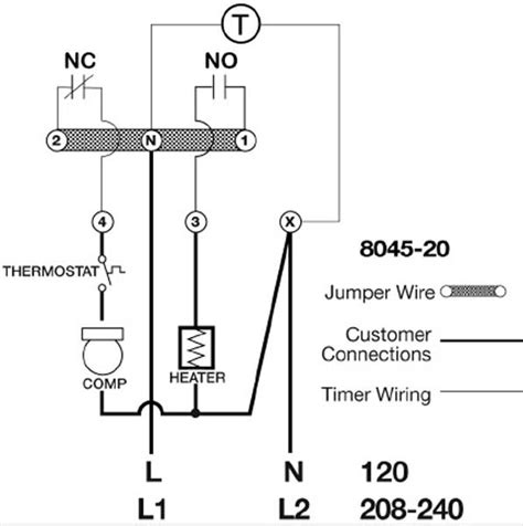 grasslin defrost timer wiring diagram wiring diagram and