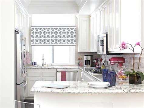 small kitchen window treatments hgtv pictures ideas hgtv