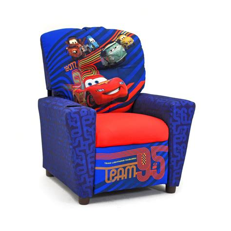 disney cars armchair disney cars 2 childrens recliner kids upholstered chairs