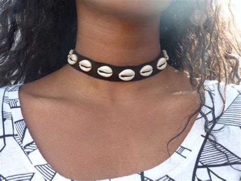 Kalung Fashion Choker Silver Chain Tassel Necklace Nf0009 leather cowrie shell choker necklace choker brown suede