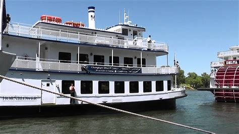 old union boat r empress hornblower docking at old sacramento calif 2 25 12
