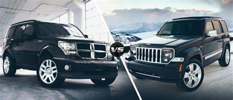jeep nitro 2016 chrysler face off 2011 dodge nitro vs 2011 jeep liberty