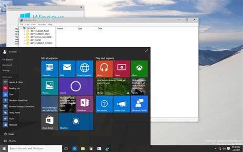 home design windows 10 windows 10 screenshots zeigen dunkles design und deuten