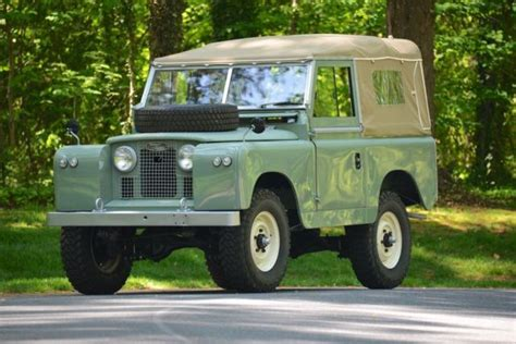 land rover series ii 1961 land rover series ii 88 lhd land rover
