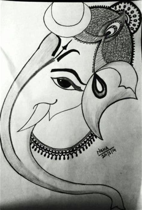 Ganesh Ji Sketches by Ganesh Ji Sketch Pencil Sketches Ganesh