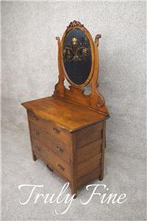 victorian dresser with oval mirror victorian era antique oak dresser rare oval mirror chest