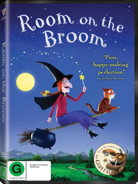 Room On The Broom Free by Room On The Broom Dvd On Sale Now At Mighty Ape Nz