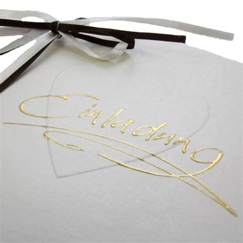 Einladungskarten Hochzeit Creme by Einladungskarte Zur Hochzeit In Creme Braun Tafeldeko