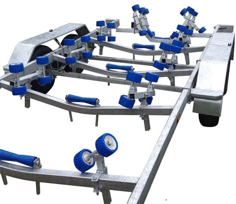 boat trailer rollers swiftco 7 2 metre boat trailer wobble roller