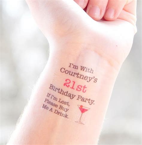 birthday tattoo designs 25 best ideas about 21st birthday crafts on