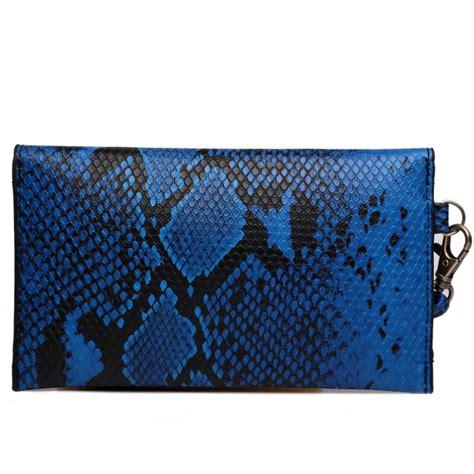 blue pattern clutch bag e0501 miss lulu small snakeskin pattern envelope purse