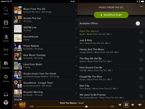 Home Design 3d For Mac Free spotify brings new design your music to ipad app macstories
