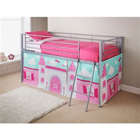 Princess Mid Sleeper by Midsleeper Bed Princess Bedroom Furniture B M Stores