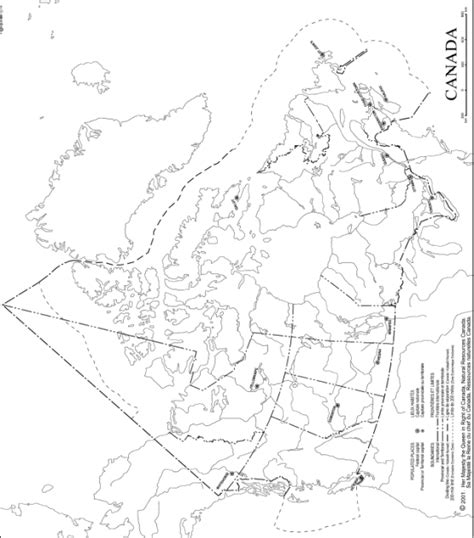 blank map of canada provinces and capitals canada outline map
