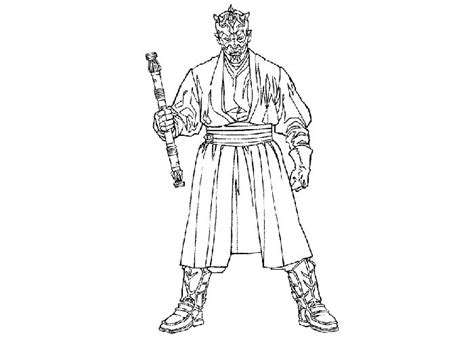 coloring pages of darth maul darth maul coloring pages bebo pandco