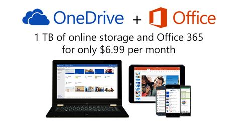 Office Onedrive by Microsoft Announces Major Changes To Onedrive Storage Plans