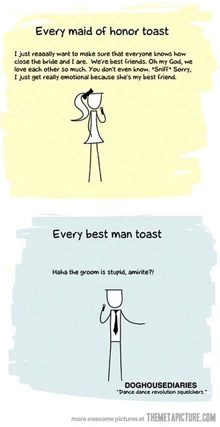 Every wedding toast ever   Funny   Funny wedding toasts