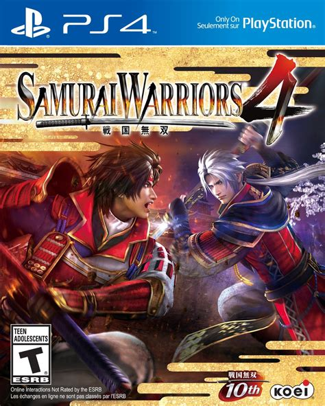 Kaset Ps4 Samurai Warriors 4 Ii Reg 2 samurai warriors 4 playstation 4
