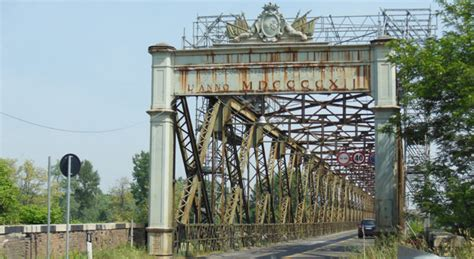 la provincia di pavia giornale ponti sul po in provincia di pavia livello di allerta
