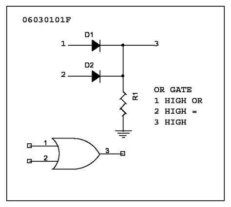 diode circuit for not gate index of slotinfo techstuff cd2 diodes and transistors diodes