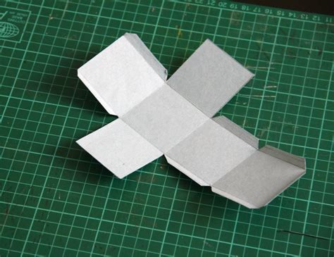 How To Make A Paper Cube - free paper cube pattern template search results