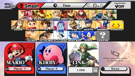 fighting as the wii fit trainer in smash bros on