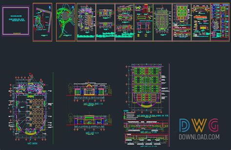 Coffee Shop Design Dwg | dwg download small coffee shop design dwg projets