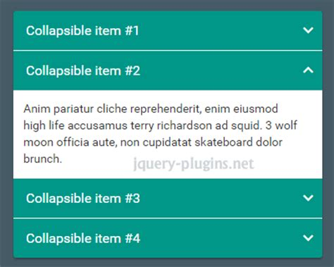 bootstrap layout collapse collapse jquery plugins