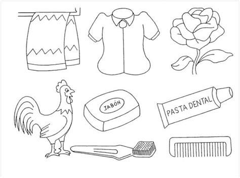 Imagenes Para Colorear Utiles De Aseo Personal | utiles de aseo personal para ni 241 os para colorear imagui
