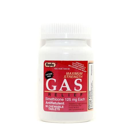 Combatrin Tablet 125 Mg maximum strength gas relief simethicone 125 mg chewable tablet 60 btl