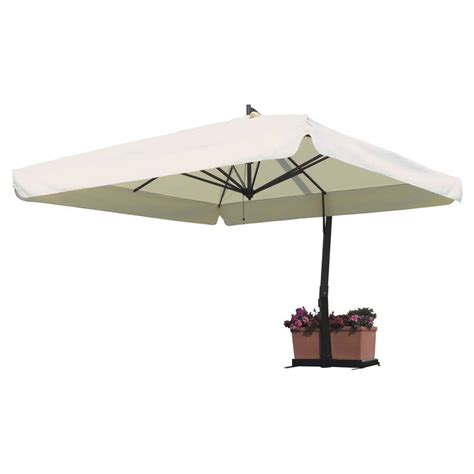 Square Cantilever Patio Umbrella Fim P Series 9 5 Square Cantilever Patio Umbrella 9 5 X 9 5