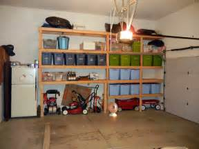 Garage Organization Layout Ideas View Diy Overhead Garage Storage Design Ideas