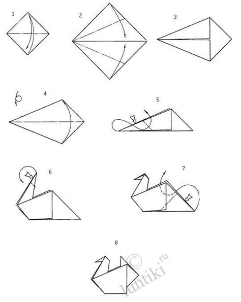 How To Make A Origami Goose - arts and crafts origami activity the simple scheme