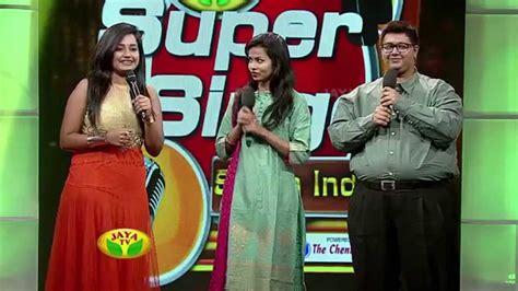 Jaya Super Singer South India Episode 49 07032015 | jaya super singer south india episode 49 07 03 2015
