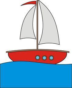 cartoon boat color sailboat clipart image coloring page of a small sailboat