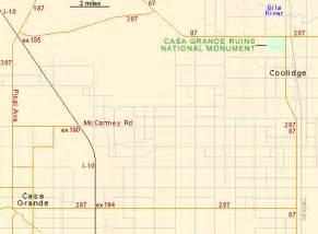 casa grande arizona map casa grande ruins national monument coolidge arizona
