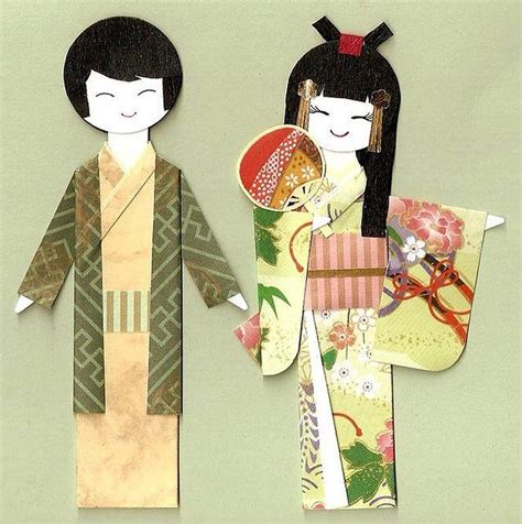 Origami Paper Dolls - 17 best images about origami paper dolls on