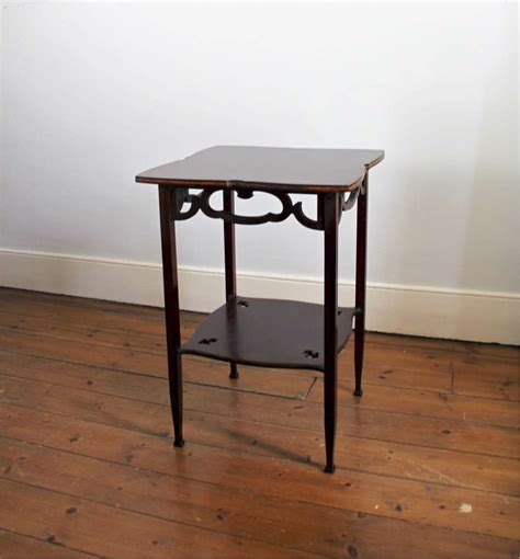 nouveau arts and crafts occasional table tables art