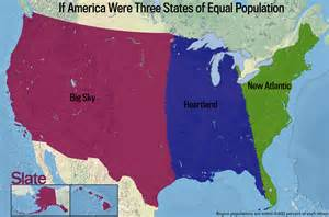 us map population by state if the us were 2 states of equal population gif 670x479