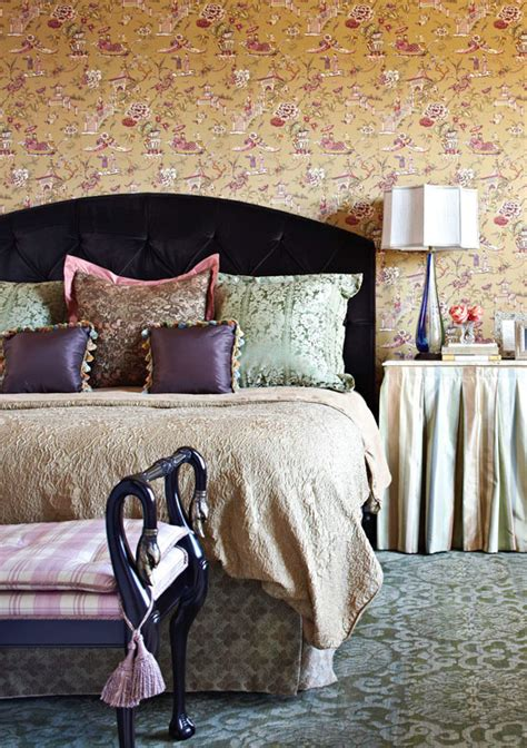 Bedroom Decorating Ideas With Toile Bedroom Decorating Ideas Totally Toile Traditional Home