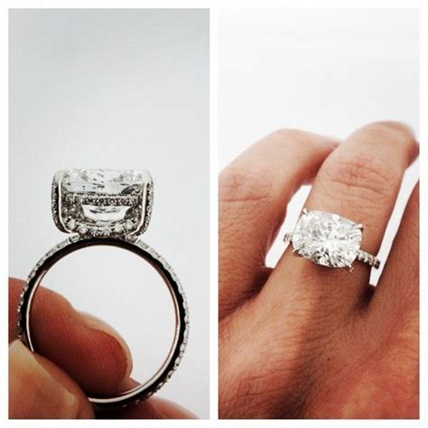 25  best ideas about Cushion cut diamonds on Pinterest
