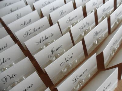 Handmade Place Cards For Weddings - place cards most inviting by kristie