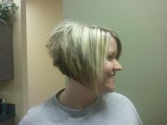 bad stacked bob haircut hair on pinterest stacked bobs red blonde and chunky