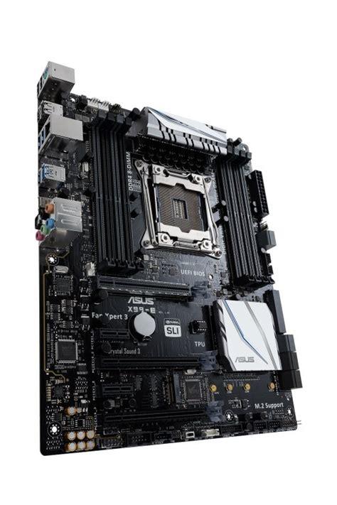 Best Buy Motherboard Asus X99 A Socket 1151 asus x99 e socket lga 2011 v3 8 channel hd audio atx motherboard ebuyer