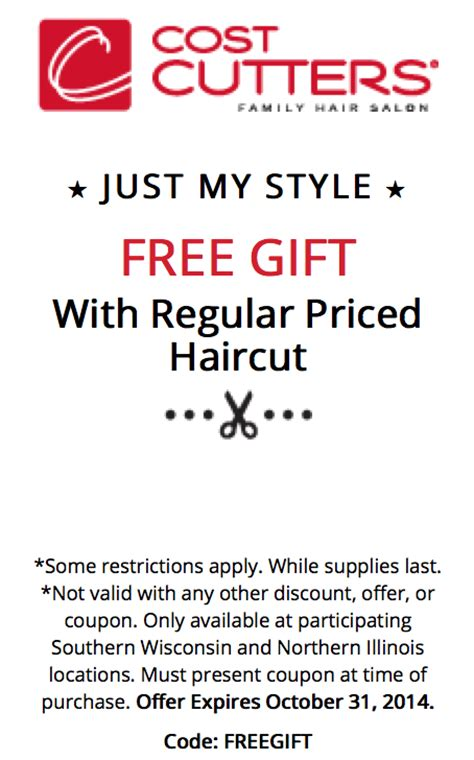 haircut coupons cost cutters cost cutters hair salon coupons 2015 coupon codes promo