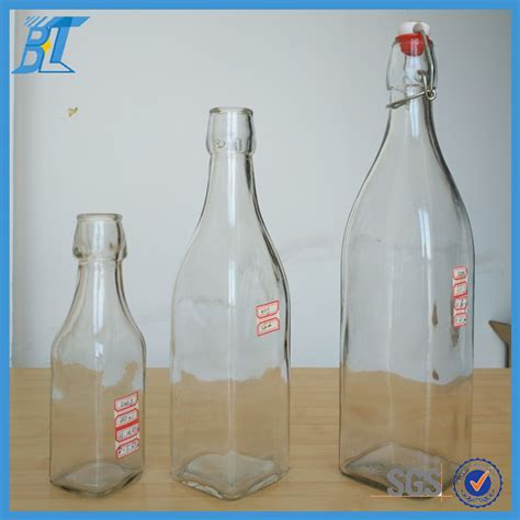 Swing Top Beverage Glass Bottles Wholesale 16oz Buy Glass Bottles Wholesale Swing Top Glass